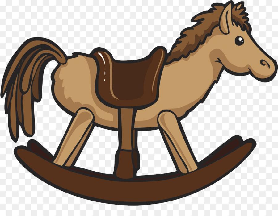 Rocking Horse Trojan Horse Illustration   Trojan Rocking Chair