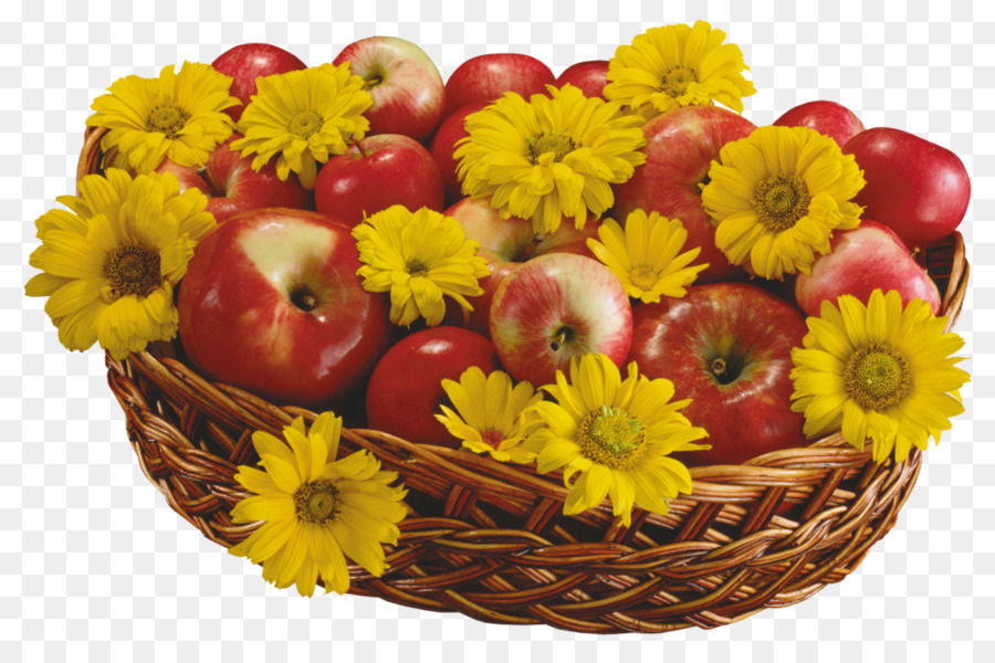 Flower Apple 1080p Basket Wallpaper