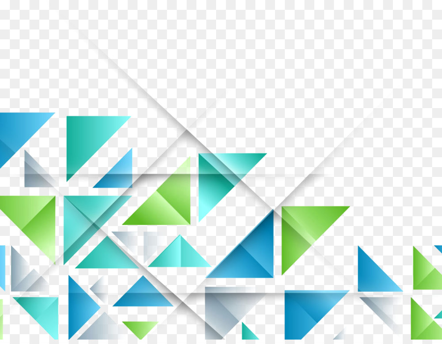 triangle geometric shape pattern colorful geometric png download