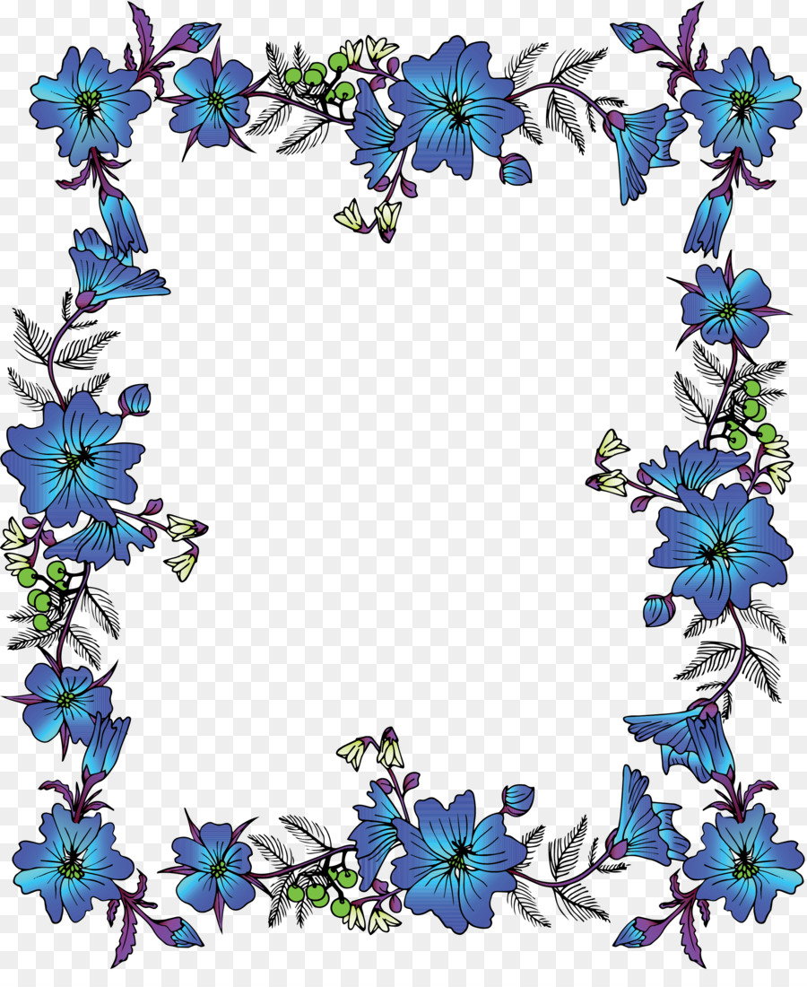 Flower Picture Frame Clip Art