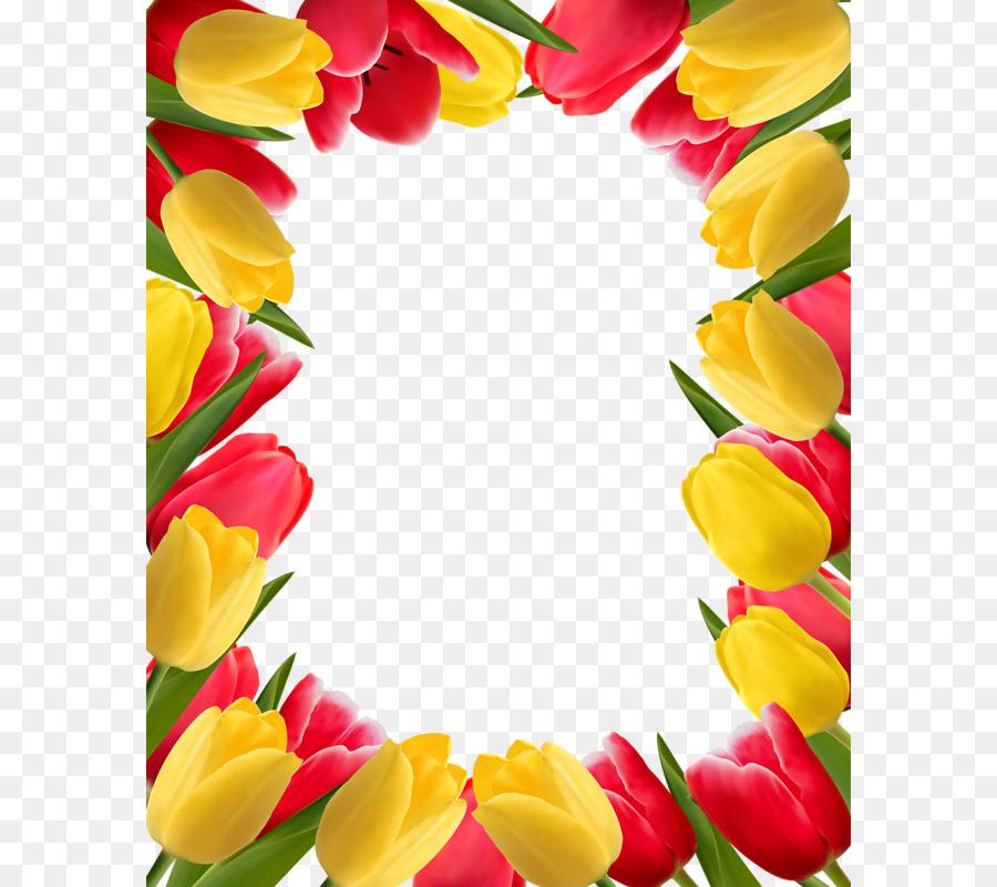 400 Gambar Clip Art Bunga Tulip  Paling Keren