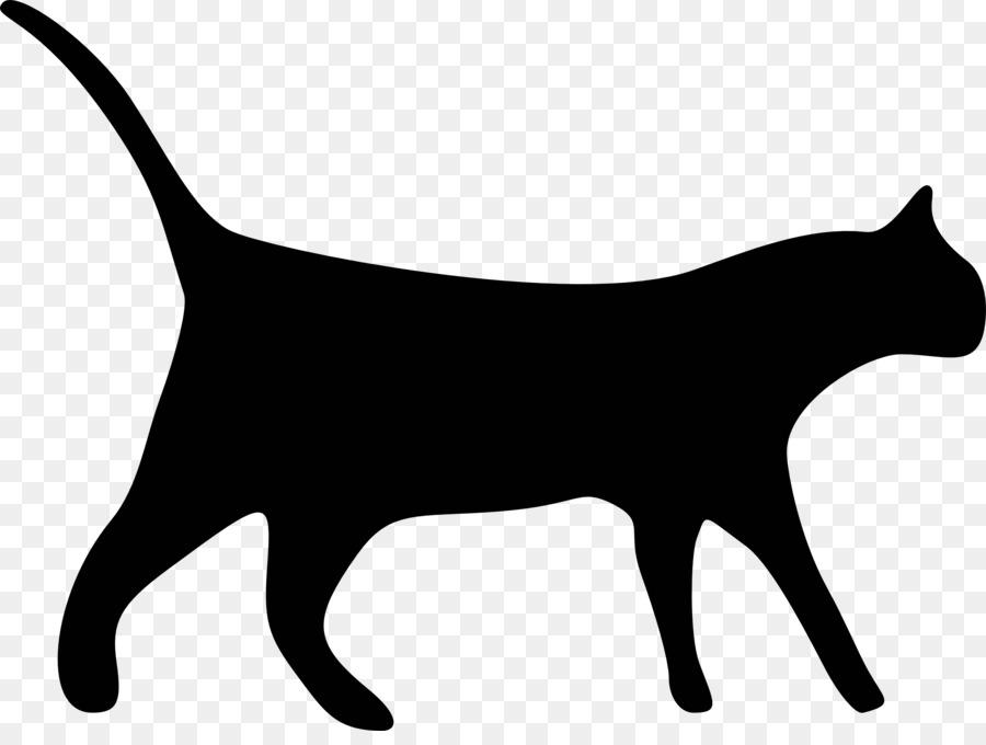 black cat clip art