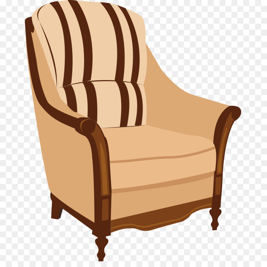 Table Furniture Couch Chair   Real Leather Chair Vector Furniture Realistic