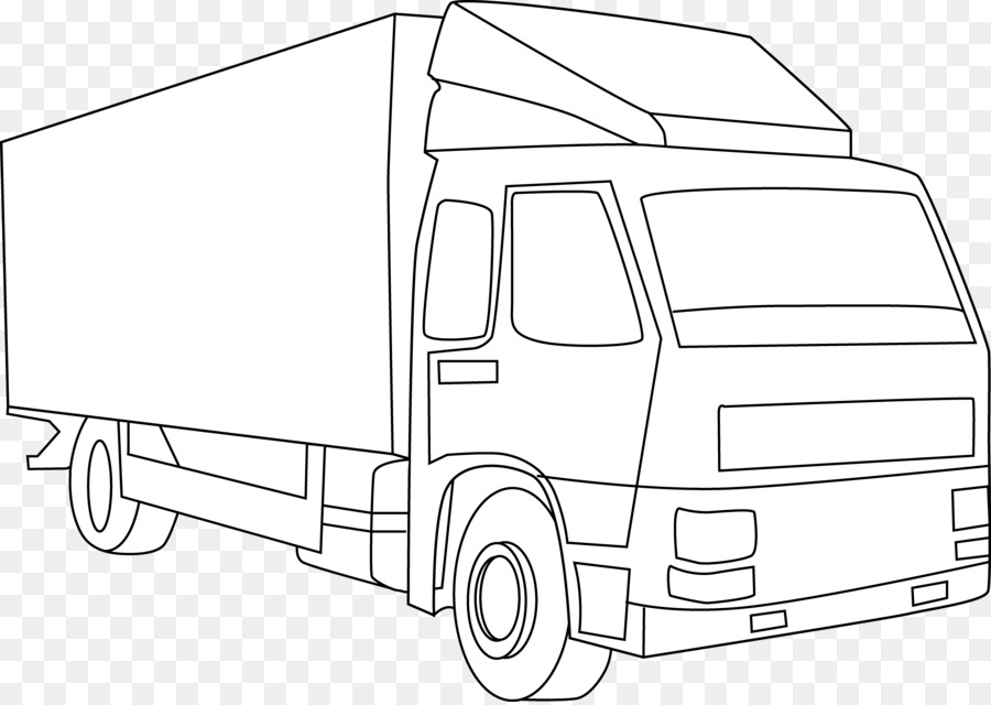 Truck Outline Png Download 6996 4951 Free Transparent Pickup
