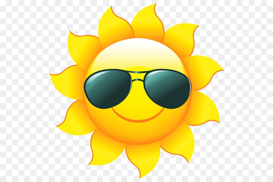 Kostenlose Inhalte Clip Art Sonne Mit Sonnenbrille Png