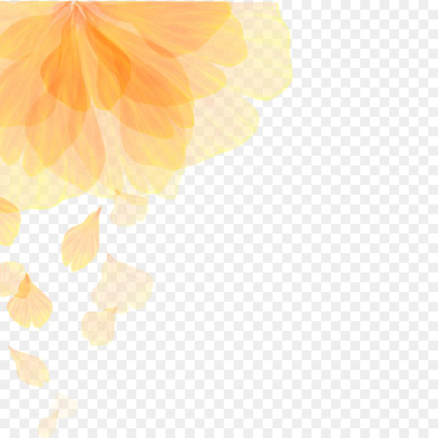 Euclidean vector Flower Color gradient - Fantasy Flowers png ...
