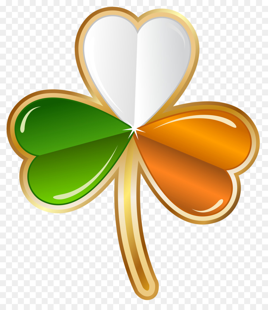 Trébol de irlanda el Día de San Patricio trébol de Cuatro hojas Clip ...