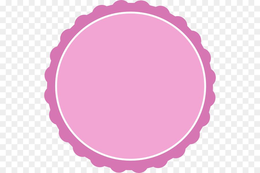 scallop circle picture frame clip art cute cliparts pink png rh kisspng com Blue Circle Clip Art Yellow Circle Clip Art