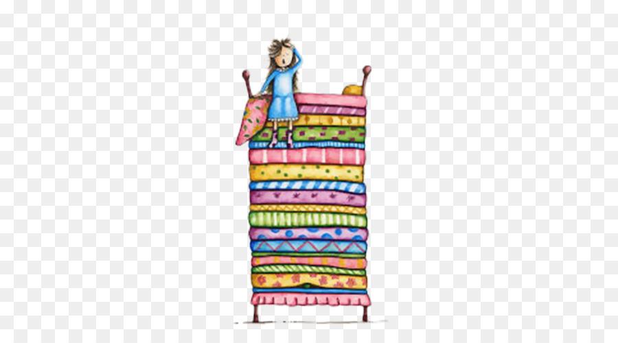 The Princess and the Pea Illustration - Pea Princess illustration ...