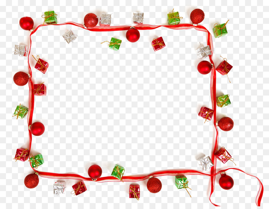 Christmas card Picture frame Christmas ornament Clip art - Christmas ...