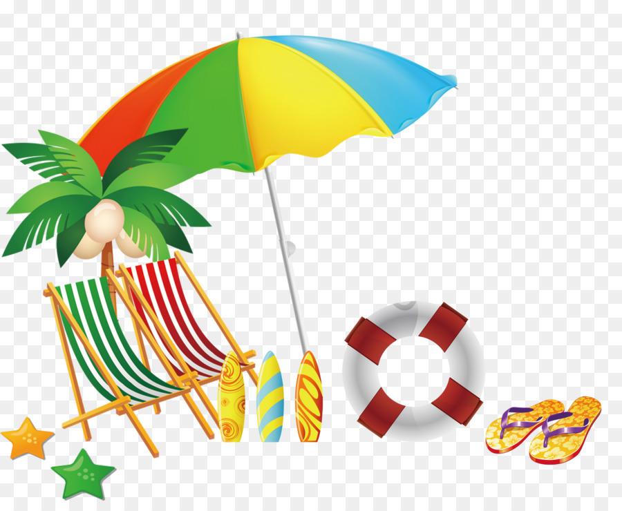 Drawing beach clip art cartoon beach recliner umbrella decorative pattern png download 2179 - Dessin parasol ...