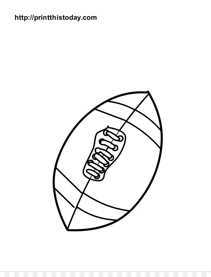 American football Coloring book Drawing - Foot Coloring Page png ...