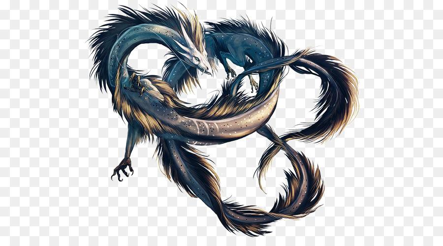 deviantart dragon fantasy digital art chinese dragon png download