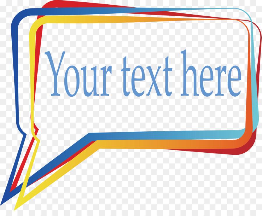Cuadro de diálogo cuadro de Texto Plano de diseño - Rectángulo ...