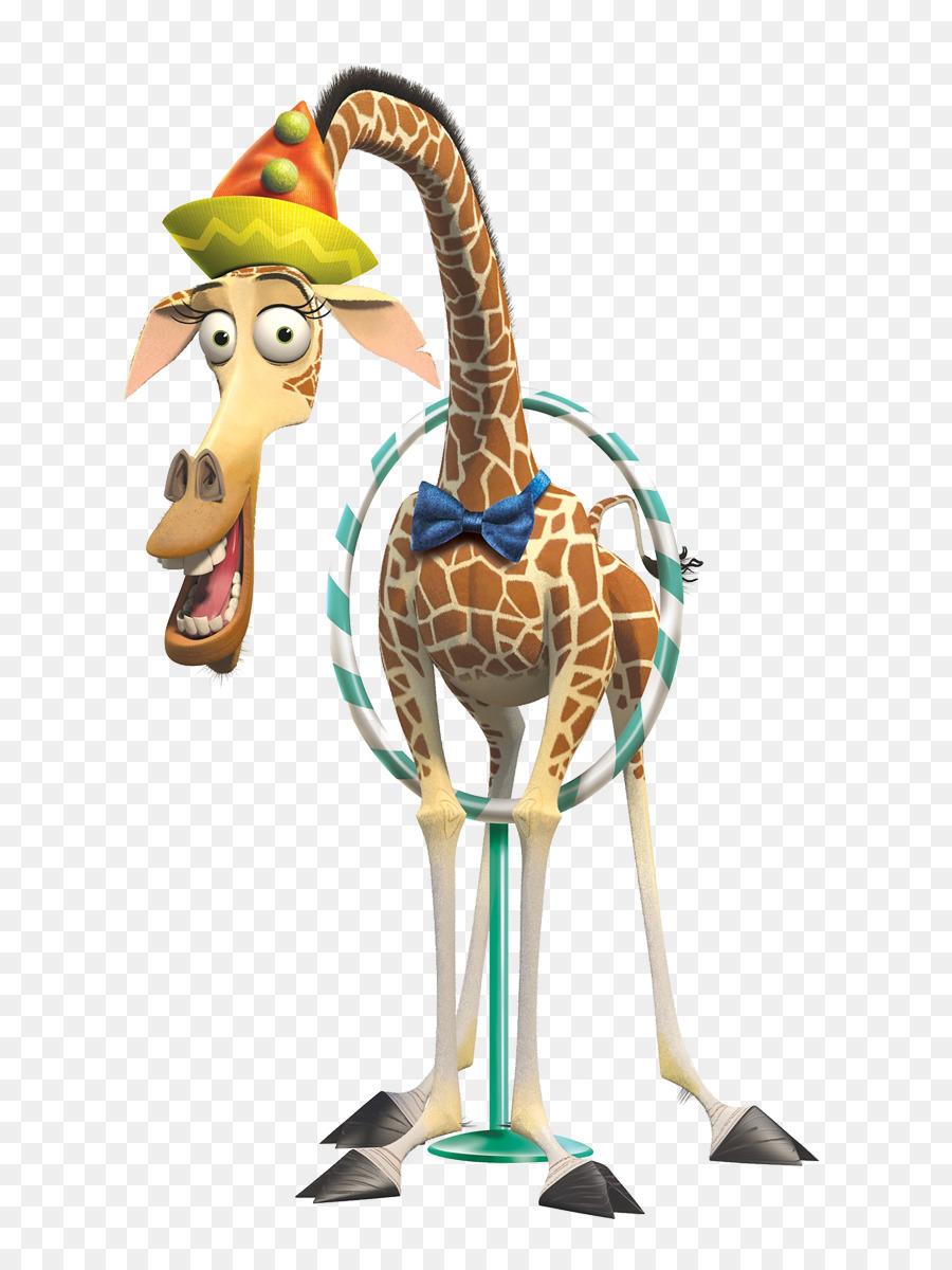Northern giraffe cartoon madagascar illustration cute - Girafe madagascar ...