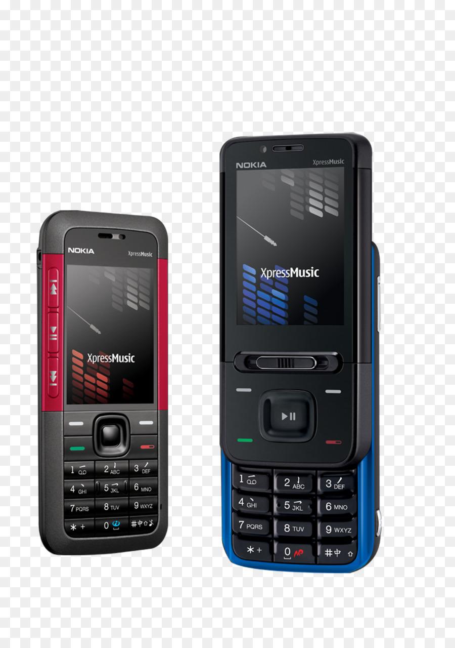 Nokia 5310 Nokia 5610 XpressMusic Nokia N81 Nokia 5800 XpressMusic Nokia N95 - Red and black vintage phone