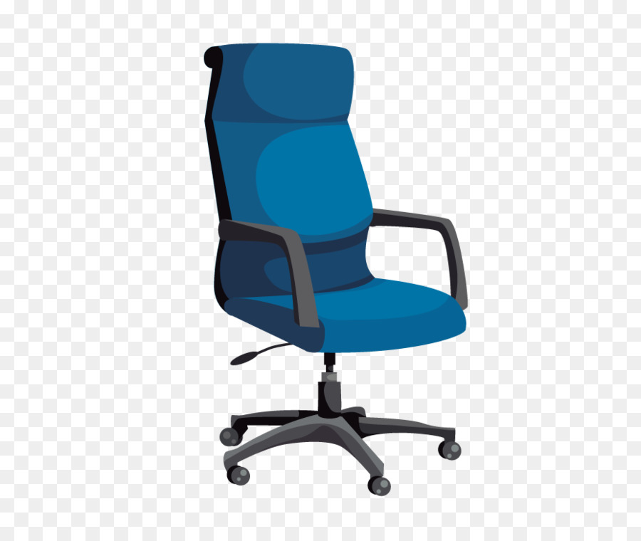 Bürostuhl clipart  Tisch Möbel Büro Stuhl clipart - Hand-bemalt Bürostuhl png ...