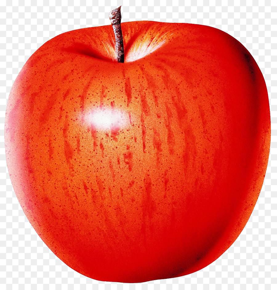iPhone X Táo Đỏ nhuận tràng - Một quả táo đỏ