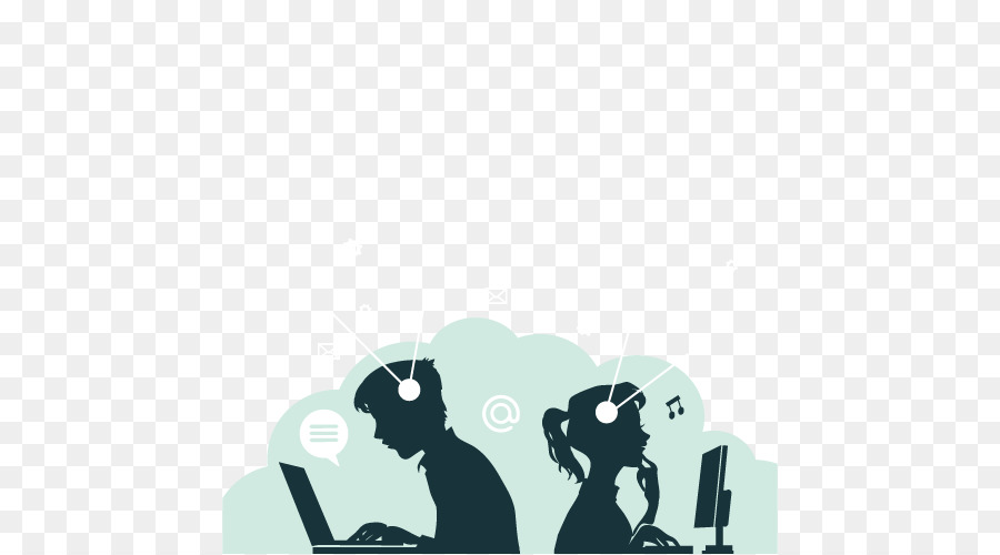 Student Digital Learning Educational Technology Couple