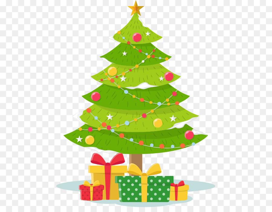 Christmas tree gift drawing