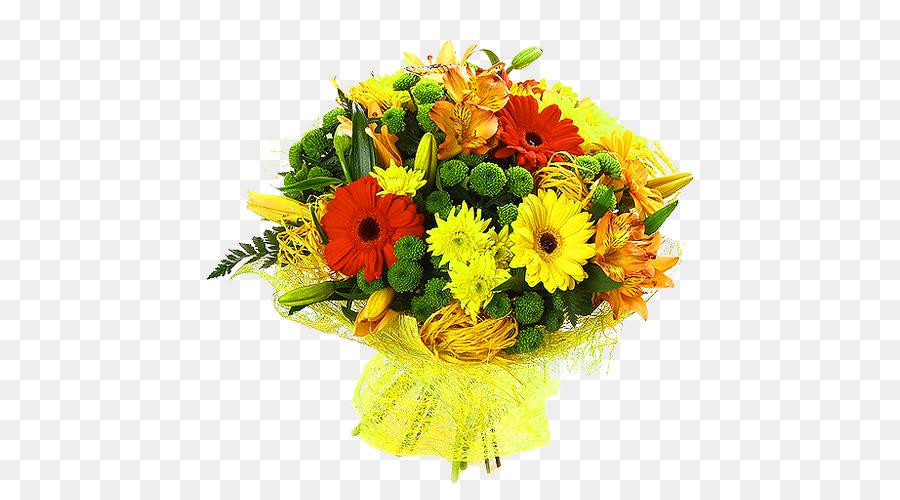 Transvaal daisy Flower bouquet Chrysanthemum Rose - Yellow simple ...
