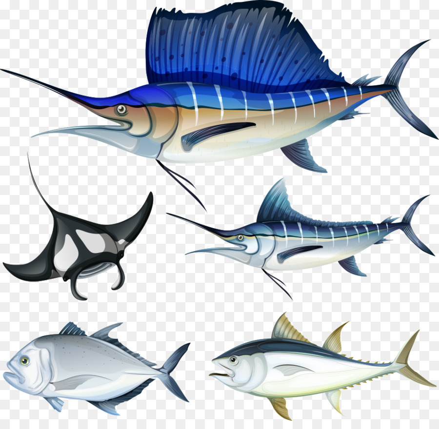 Fish hook Illustration - Vector seabed fish png download - 952*913 ...