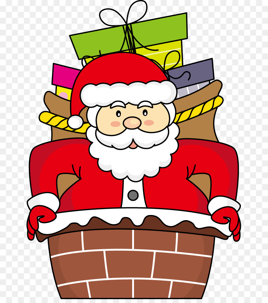 Santa Claus De Navidad Dibujo De Ilustracion Color De Dibujos