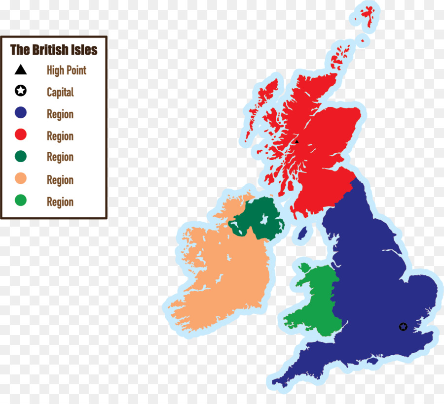 Map Of England Ireland Scotland Wales.England Scotland Wales British Isles Ireland Map Identifier Png