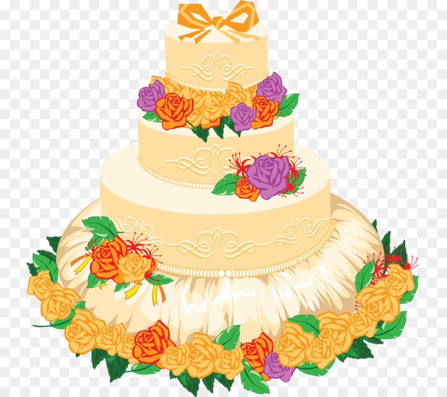 Wedding cake Icing Clip art - cake png download - 793*800 - Free ...