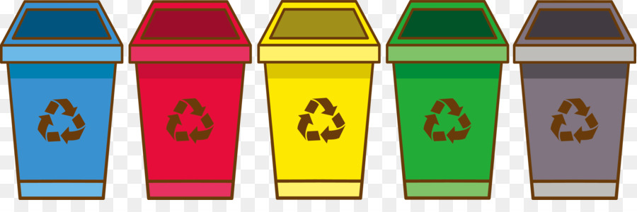 paper waste container drawing trash container png download 3436