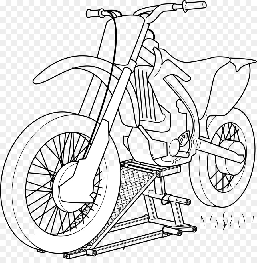 Car Motorcycle Coloring book Illustration - Motorcycle Sprockets ...