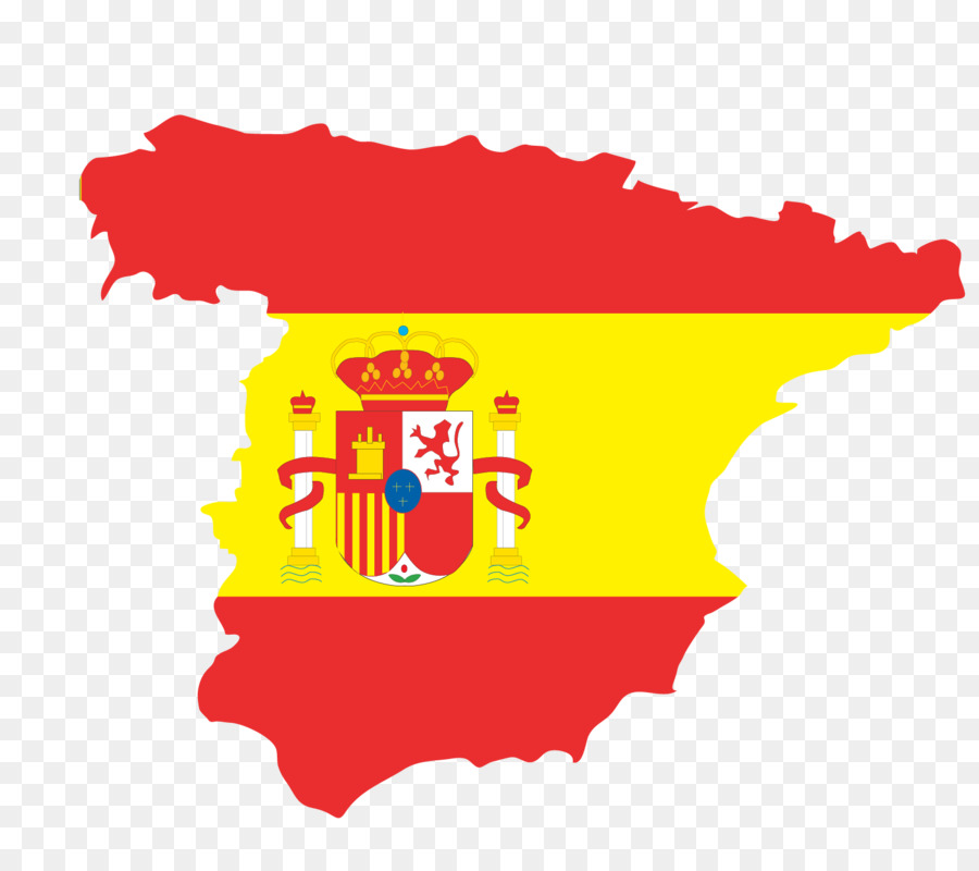 Flag of Spain Flag of Europe Illustration   Vector Map png