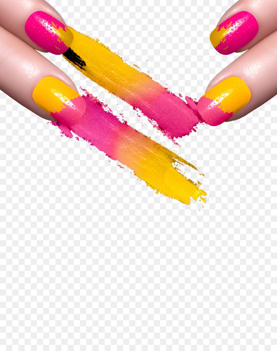 Nail art Manicure Gel nails Nail polish - Nail png download - 3904 ...