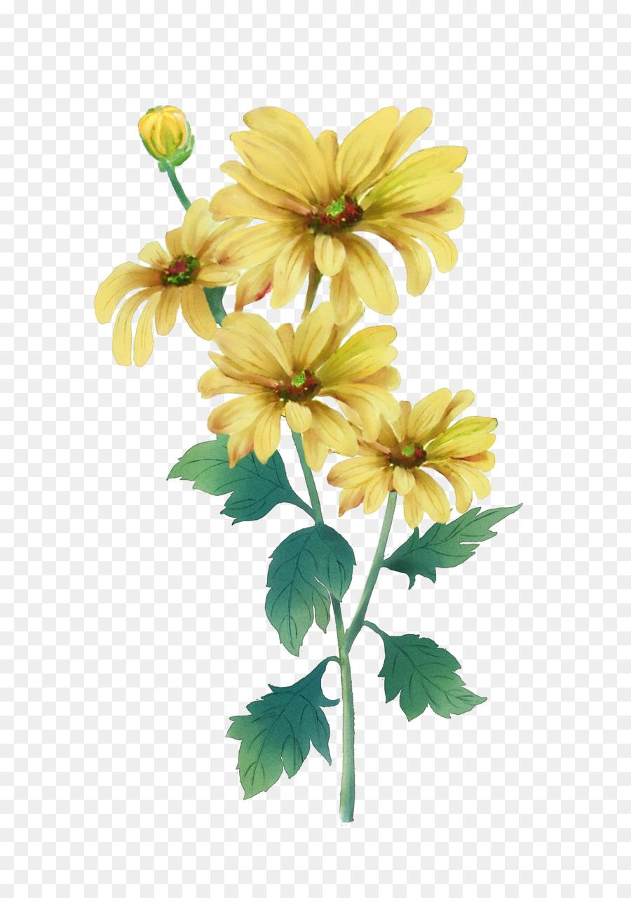 Double ninth festival chrysanthemum watercolor painting yellow double ninth festival chrysanthemum watercolor painting yellow yellow chrysanthemum izmirmasajfo