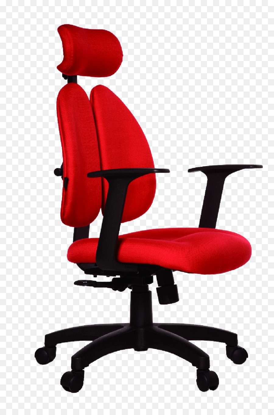 Office Chair Swivel Chair Auto Racing Desk   Red Vector Computer Chairs