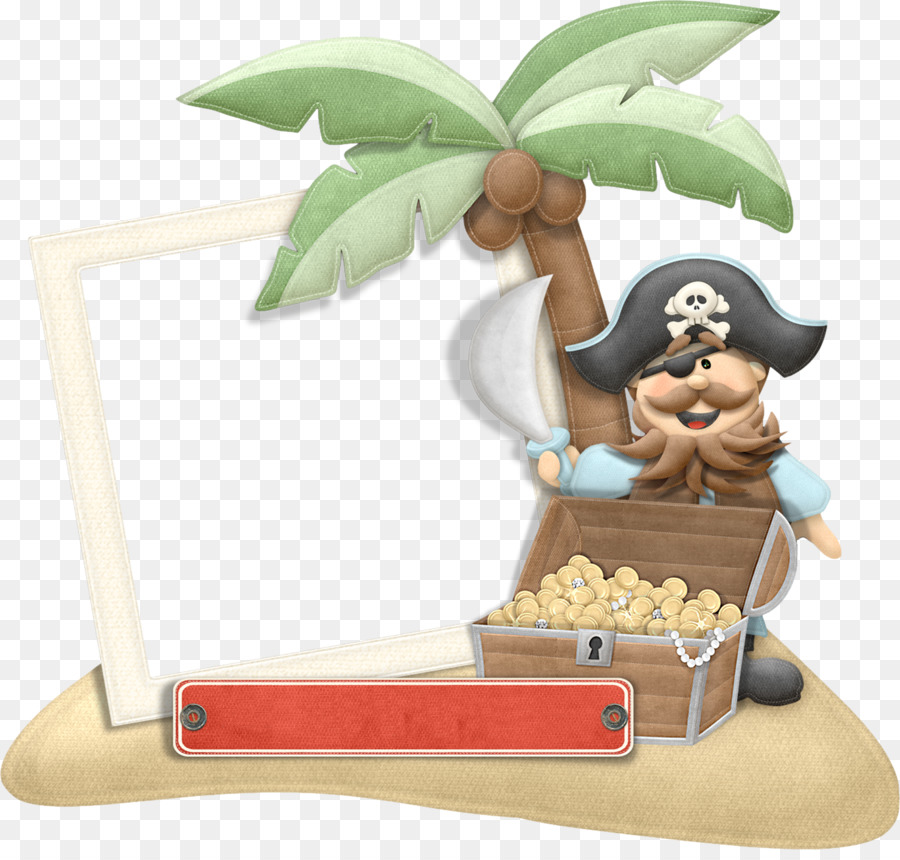 Piracy Picture Frame Clip Art Cartoon Pirates Png Download 1800