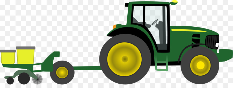 john deere tractor pulling agriculture clip art animated cliparts rh kisspng com john deere clip art john deere clipart tractor