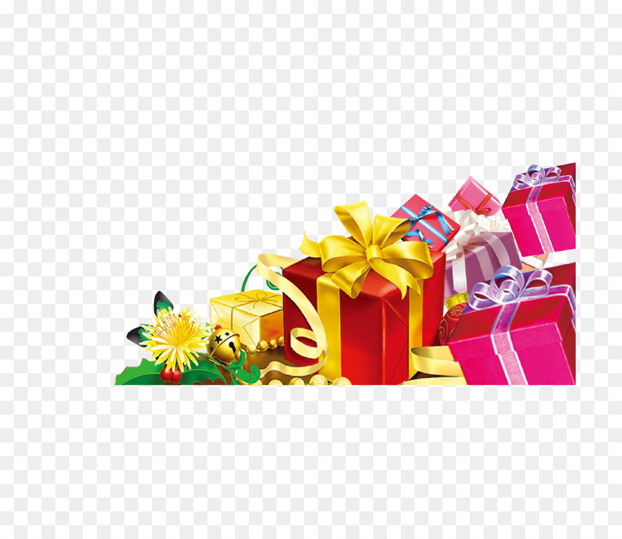 Gift Christmas card Greeting card - Gift png download - 846*765 ...