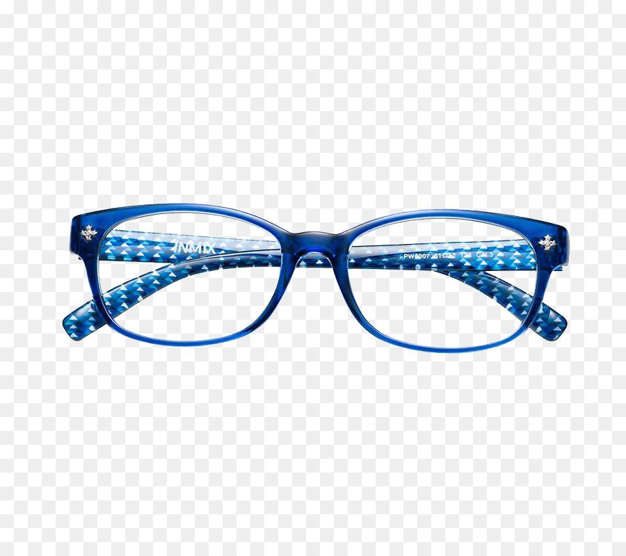Gafas De Cristales Azules Diseñador - Marco azul, gafas de marco ...