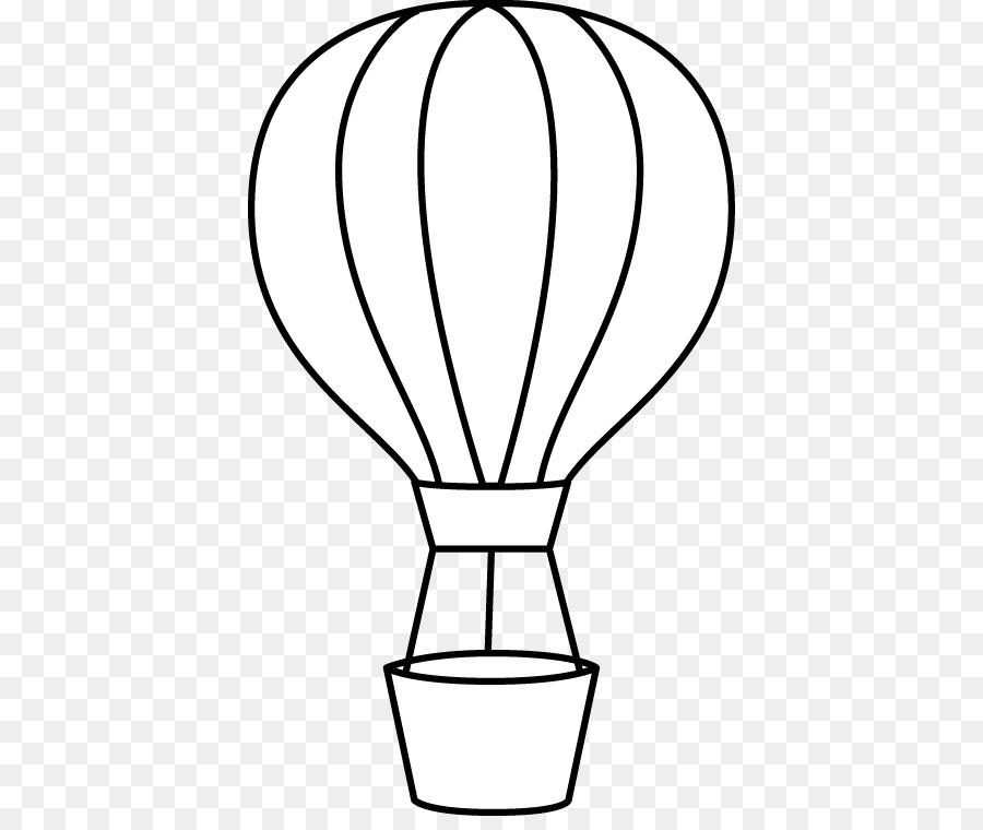Libro para colorear de globos de aire Caliente de Dibujo Infantil ...