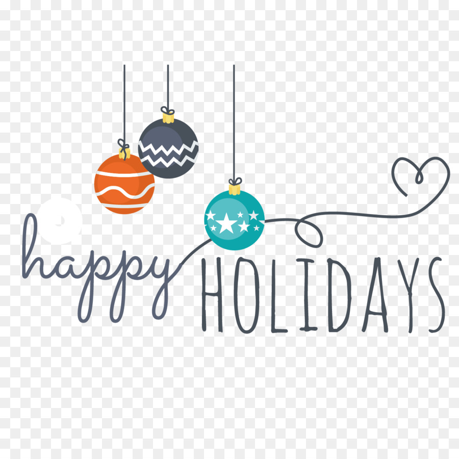 Holiday Winter vacation New Year Clip art - Happy winter WordArt ...
