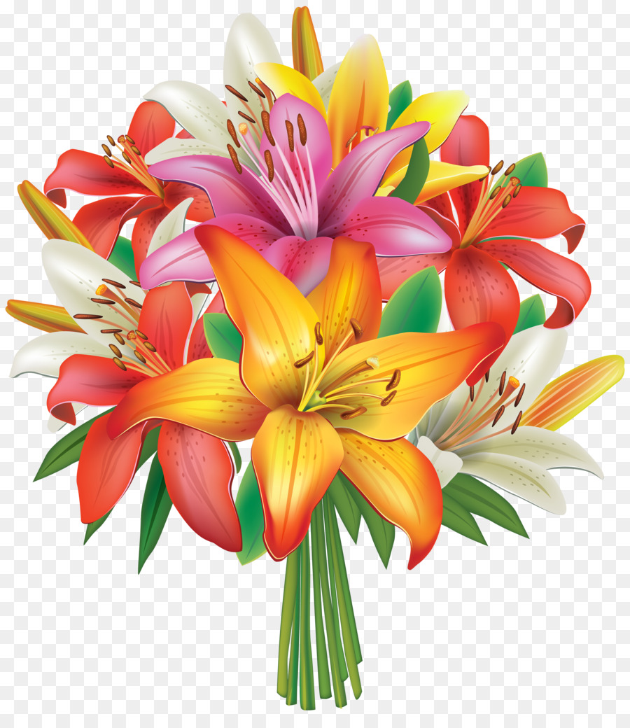 Flower bouquet lilium clip art flower bunches cliparts png flower bouquet lilium clip art flower bunches cliparts izmirmasajfo