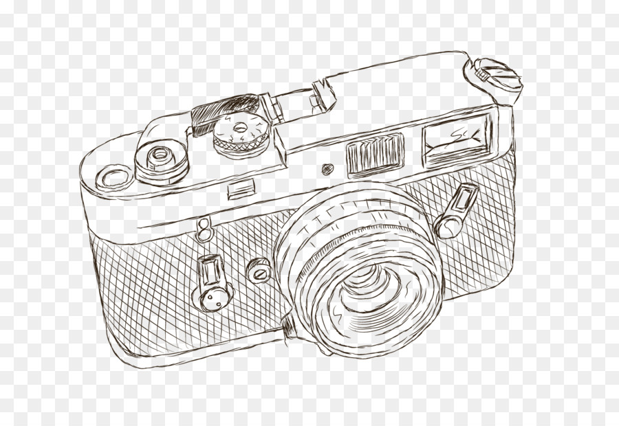 Sony Alpha 900 Nikon D90 Camera Drawing