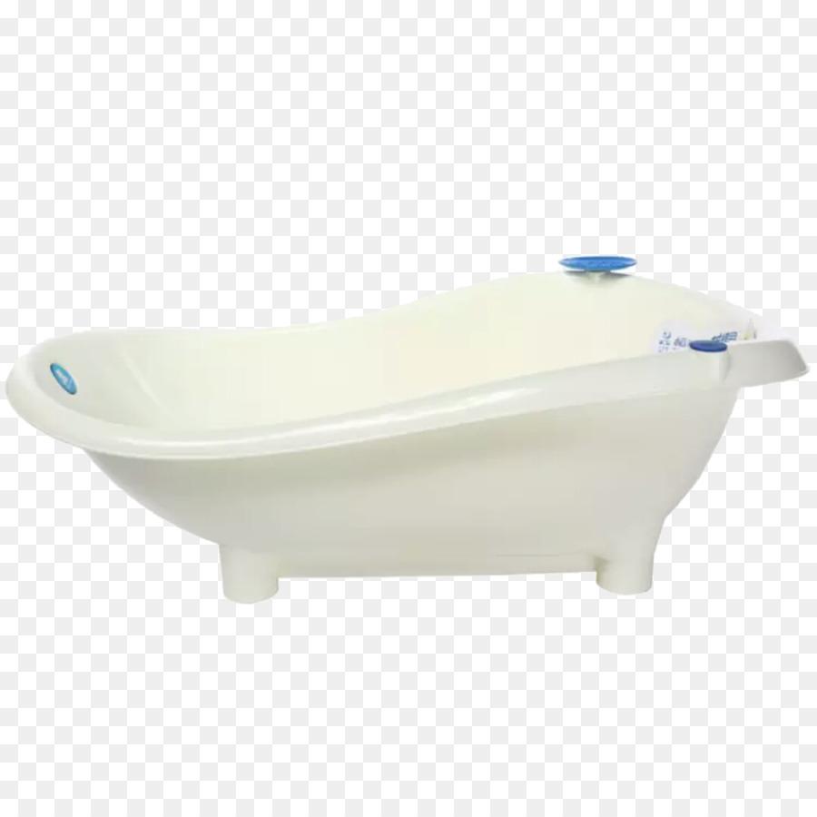 Bathtub Tap Toilet seat Bathroom - Baby bathtub white png download ...
