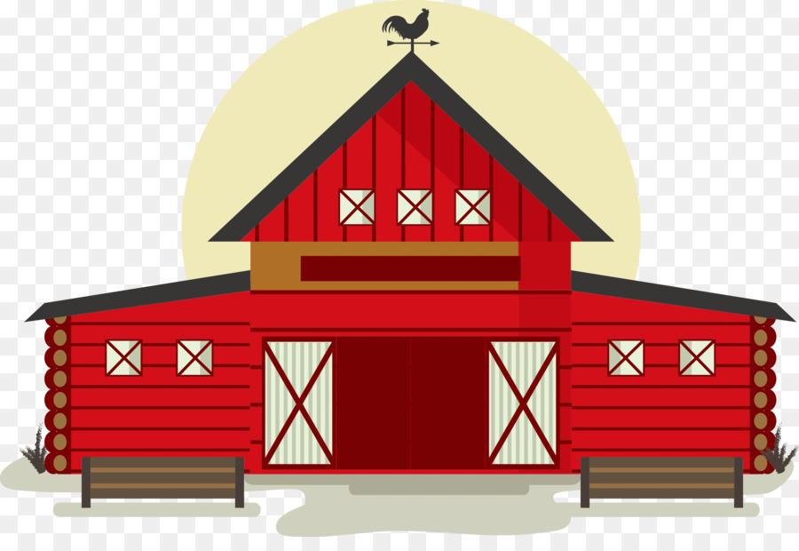 Building Barn Illustration