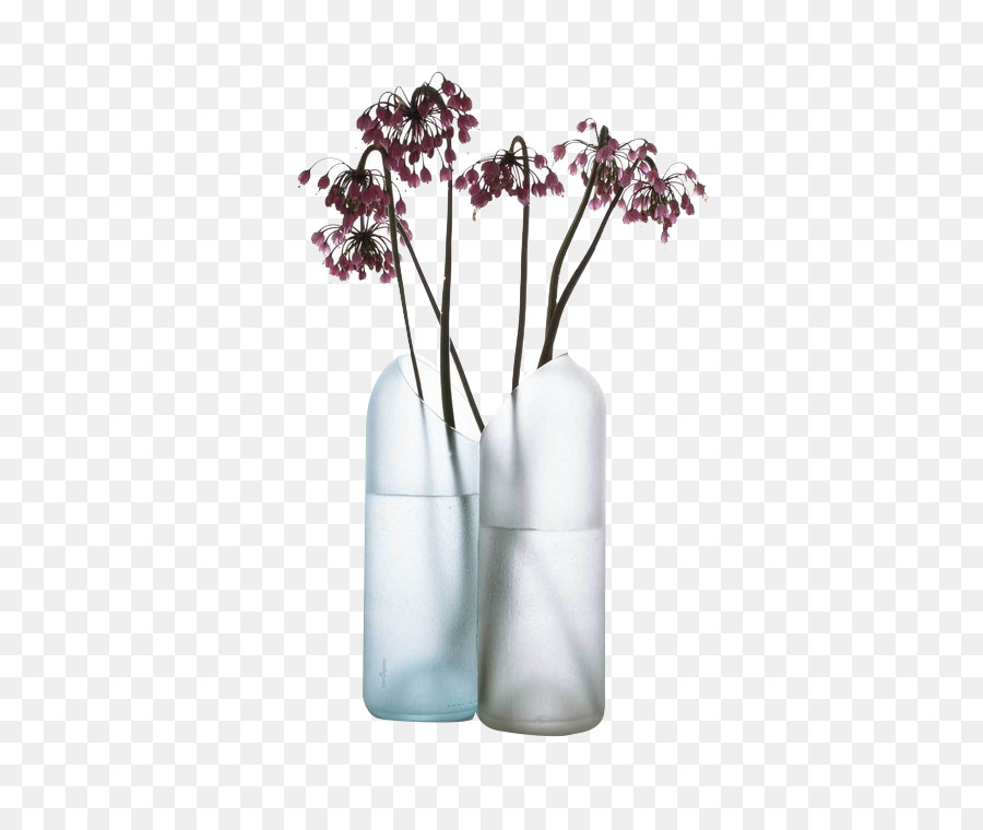 Glass Vase Iittala Bottle Vase Png Download 600751 Free