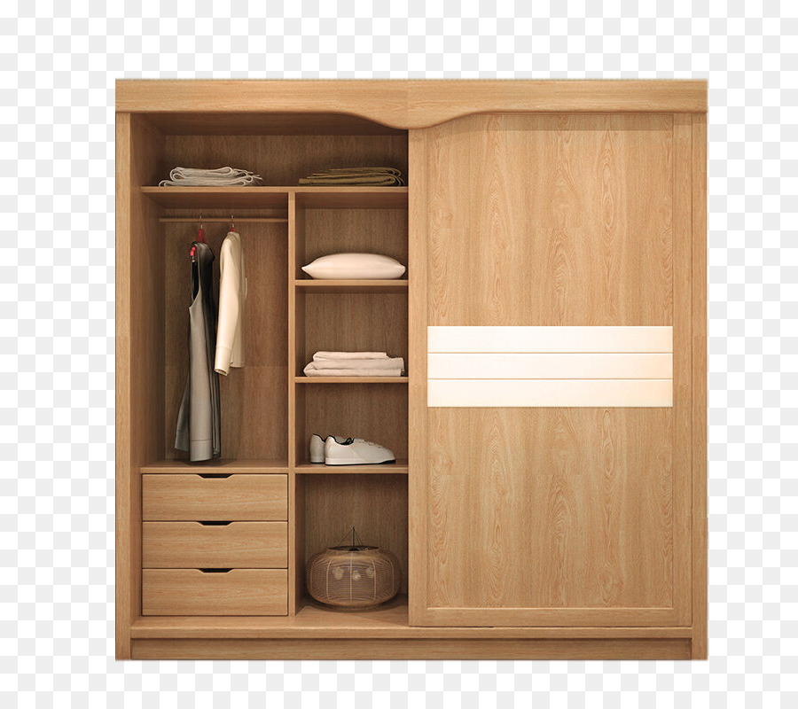 Wardrobe Garderob Closet Door Furniture   Solid Wood Wardrobe Two