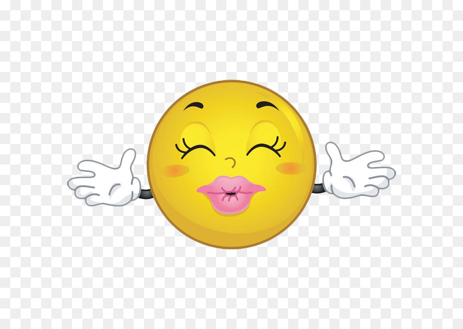 Kiss Emoticon Hug Smiley Clip Art Pout Kiss Cartoon Face Png