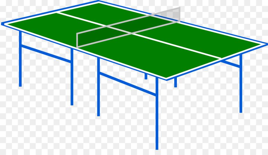 Table Tennis Racket Clip Art   Green Ping Pong Table