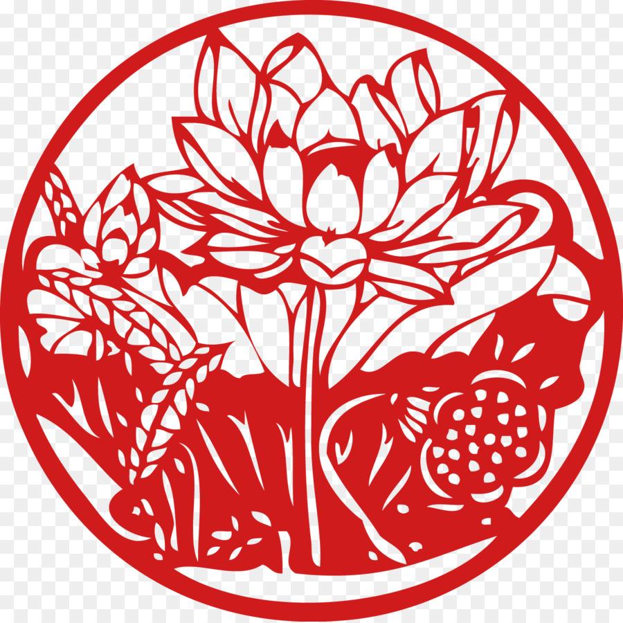 China chinese paper cutting papercutting pattern lotus aiki china chinese paper cutting papercutting pattern lotus aiki blessing word new year paper cut art decoration mightylinksfo